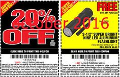 Free printable coupons harbor freight coupons hot coupons free printable coupons harbor freight coupons sciox Image collections