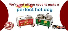 Hot Dog Machines & Supplies - HTD Canada Popcorn Company Commercial Popcorn Machine, Snow Cone Machine, Popcorn Company, Snow Cones, Home Entertainment, Hot Dogs, Canada, Entertaining, Funny