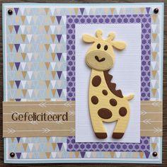 LindaCrea: Eline's Beestenboel #15 - Girafje
