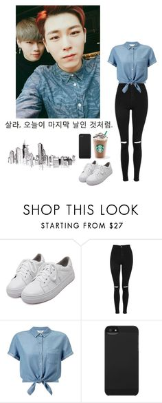 """Untitled #98"" by spisaknoemi ❤ liked on Polyvore featuring WithChic, Topshop, Miss Selfridge and Incase"