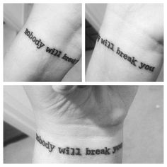 Lyric from Mariana's Trench's song beside you.