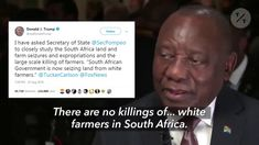 It has been another heart-breaking week for South African Farmers with four Farm Murders reported over the past 72 hours and at least XX victims injured in s Dying Of The Light, Real Video, New South, Know The Truth, South Africa, The Past, Politics, African, Social Media