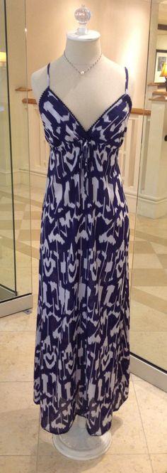 #Ikat Halter Dress #debbiekatzsouthbeach @seaglassboutique