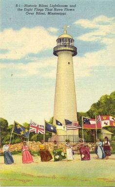 Biloxi Lighthouse  1948