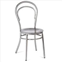 Volo Design Marie Chair in Galvanized (Set of 2)