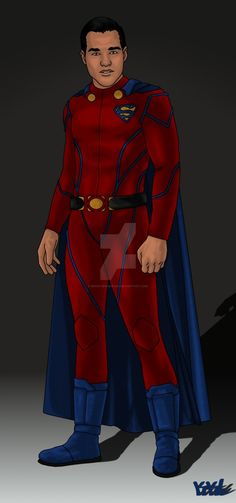 A concept of Chris Wood as Mon-El. The suit is based on both Superman's and Supergirl's suit from the show. I initially was going to give him a different variation of the crest but decided against it.