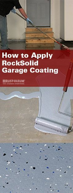 With garage coating this easy, you'll want to DIY every cement floor in your house. RockSolid® from Rust-Oleum lets you easily mix, shake, pour, and roll your way to the garage floor of your dreams that's 20x stronger than epoxy.