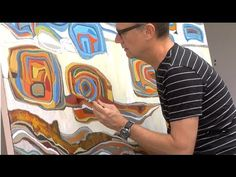 CHASE LANGFORD : MORPHIC RESONANCE, abstract painter