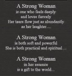 """<3<3 I am Strong """"around and with others* .... I tend to be on the weaker side, when I have Muckity Muck running through My Brain !! OR, when I am Alone and THINK too much."""