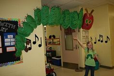 make eric carle style using tissue paper on painted paper, hang from strings in classroom