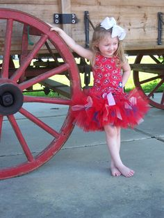 Country Cutie Tutu...bena's bday outfit?!