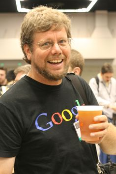 """Guido Van Rossum, author of the Python programming language. He named Python after """"Monty Python"""". Cool dude, and brilliant too Python Programming, Computer Programming, Computer Science, Science And Technology, Data Science, Monty Python, Sun Microsystems, Ruby On Rails, Linux"""