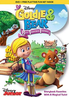 Shop Goldie and Bear: Best Fairytale Friends [DVD] at Best Buy. Find low everyday prices and buy online for delivery or in-store pick-up. Kid Friendly Movies, Captain Marvel Shazam, Palace Pets, Childhood Tv Shows, Mickey Mouse Clubhouse, Smiles And Laughs, Disney Junior, Disney Toys, Children And Family