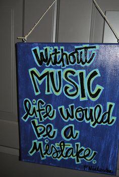 Custom Created Canvas Friedrich Nietzsche by OneLoveMileHigh, via Etsy.