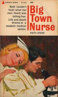 Vintage Romance nurse Covers: Big Town Nurse