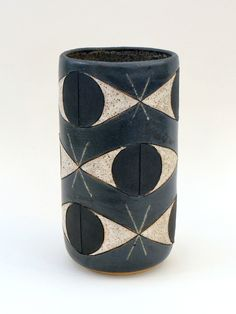 MAtthew Ward; Glazed Ceramic 'Totem' Vase, 2014.