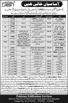 Last Date :04th February, 2017 Location : Pakistan Organization : Pakistan Edification Services Education Required : MBBS, MCS, MIT, BSCS, BSIT, Masters, Matric, Middle, Primary With this following job page you will be having fresh job opportunity from Pakistan Edification Services Jan Jobs 2017 Senior Clerk Latest. Applications are being invited from talented, competitive and well discipline applicants are required to apply for the following positions available in Pakistan Edification…