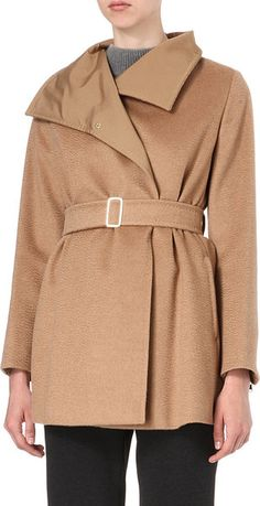 Hudson Belted Coat - A #wardrobe 'forever' keeper piece. It will always be your go to Winter/Fall piece!
