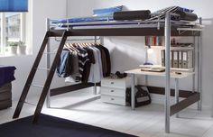 Space-Concept von Hasena - Maxi 401 Hochbett mit Treppe