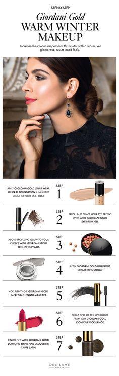 Warm winter make-up