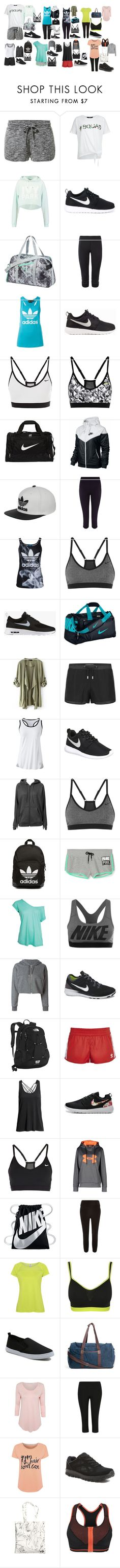 """sport"" by strawberryfelton on Polyvore featuring Mode, MANGO, New Look, Ivy Park, NIKE, Puma, adidas, Sweaty Betty, Lands' End und adidas Originals"