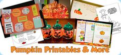 pumpkin printables and more