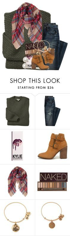 """show him what he's missing out on."" by ellaswiftie13 on Polyvore featuring Barbour, Canvas by Lands' End, Kylie Cosmetics, Steve Madden, Humble Chic, Urban Decay, Alex and Ani and Honora"