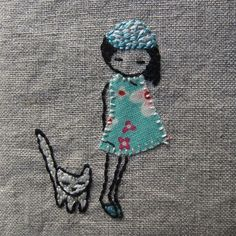 blue girl notebook detail by lili_popo, via Flickr