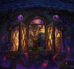 Key Art: Whispers of the Old Gods Artist: Laurel D. Austin