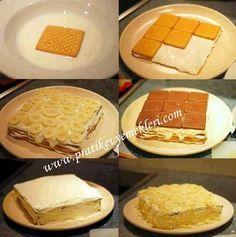 Muzlu Burçak Pasta Tarifi | Muzlu Burçak Pasta Yapılışı | Pratik Ev Yemekleri