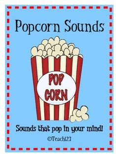 $5 Letter Sounds Popcorn - homework program
