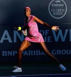 Blog Esportivo do Suíço: Venus tem trabalho, mas vence a primeira nos EUA