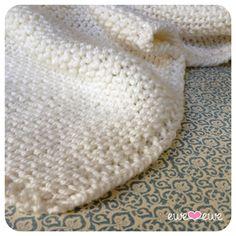 Serenity Baby Blanket {free knitting pattern} — Ewe Ewe Yarns