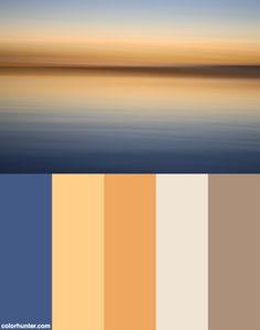 Sunset Color Scheme Color schemes for crochet and knitting Scheme Color, Colour Pallete, Colour Schemes, Color Combinations, Color Palettes, Paint Schemes, Exterior Paint Colors For House, Paint Colors For Home, House Colors