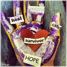Survivor's Hand: Finding Safety through Art: #ICANWECAN