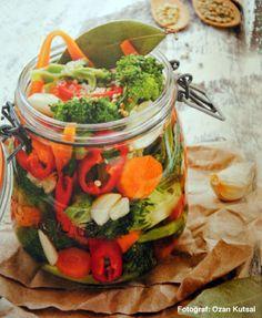 Probiyotik karnabahar ve brokoli turşusu – – Home Trends 2020 Vegetable Soup Healthy, Vegetable Drinks, Vegetable Recipes, Pickled Cauliflower, Broccoli Cauliflower, Cauliflower Recipes, Healthy Eating Tips, Healthy Nutrition, Healthy Recipes