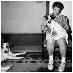 Platteland::Woman and Dogs, Orange Free State, 1994