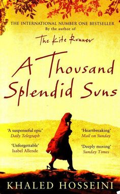 After The Kite Runner, I'm looking forward to read other books from Khaled Hosseini. He's brilliant!