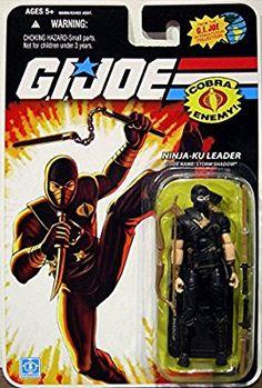 Joe Cobra COMIC PACK 2 Pack 25th Anniversary MOC Firefly /& Storm Shadow G.I