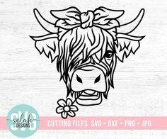 Cricut Vinyl, Svg Files For Cricut, Vinyl Decals, Cricut Craft Room, Cricut Air, Cow Png, Cow Clipart, Cow Head, Cow Face