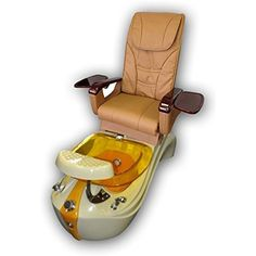 Tan and Gold Pedicure Spa Massage Chair with Free Stool * More info could be found at the image url. (This is an affiliate link) #ToolsAccessories
