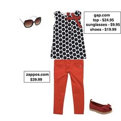 Taylor Joelle Designs: Children's Style Guide - Red Summer Look