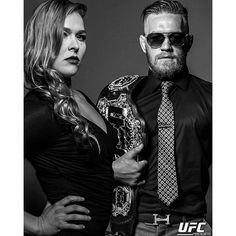 KING & QUEEN : Ronda Rousey & Conor McGregor : if you love #MMA, you'll love the #UFC & #MixedMartialArts inspired fashion at CageCult: http://cagecult.com/fitness