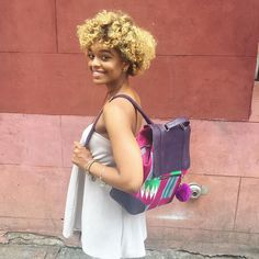 @basebutter rocking one of our latest backpacks at the Chatter Box x Dent  pop up! Stop by and say hi!  http://ift.tt/1kuHFKj  #summerwithceecee #nycstreetstyle #nycfashion #ceeceescloset #ceeceesclosetnyc
