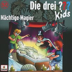 """… und der KIDS-Fan freut sich.  Das ist eine schöne Geschichte und ein prima Einfall. Die KIDS sind zwar irgendwann am Ende ihrer Rätseltricks angelangt, beendet ist die Sache für sie aber noch nicht, denn sie müssen erst """"den Zauber der drei Mumien"""" benutzen …  http://buchwurm.org/die-drei-kids-maechtige-magier-folge-52/"""