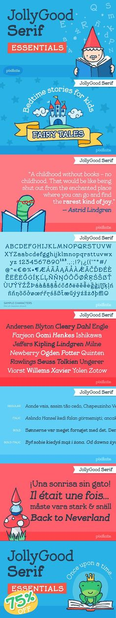 JollyGood Serif is another member of the JollyGood family. This is a hand drawn serif/typewriter font that can work both for comics or as a display face .