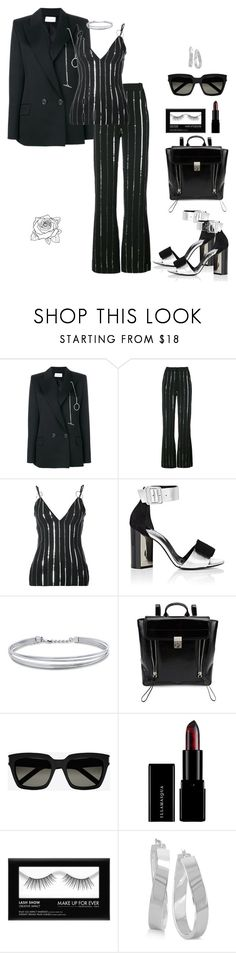 """""""Styled"""" by uniquely-flawed ❤ liked on Polyvore featuring Thierry Mugler, Pierre Hardy, BERRICLE, 3.1 Phillip Lim, Yves Saint Laurent and Illamasqua"""