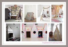 indoor playhouses- DIY?