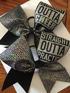 A personal favorite from my Etsy shop https://www.etsy.com/listing/264861003/straight-outta-practice-or-cheer-custom
