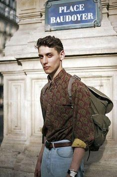 New Vintage Style Men Fashion Outfits Ideas Fashion Mode, Look Fashion, Urban Fashion, Mens Fashion, Fashion Outfits, Fashion 2016, Hipster Outfits Men, Hipster Men Style, Male Hipster Fashion